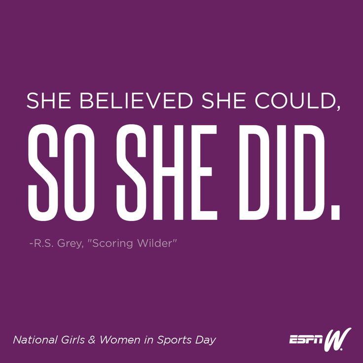 National Girls and Women in Sports Day   Infinity Sports and